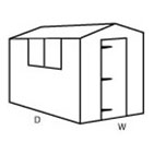 Configuration A (Apex Shed)