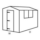 Configuration B (Apex Shed)