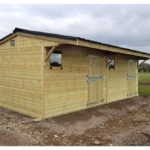 10ft x 10ft Add-on stable