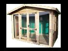 6ft (W) x 6ft (D) Apex Studio Summerhouse