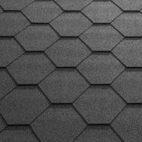 Black Felt Shingle Tiles