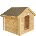 2ft (W) x 2ft (D) Dog Kennel