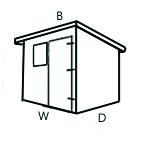 Configuration B (Pent Shed)