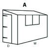 Configuration A (Reverse Pent Shed)