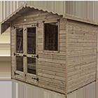 6ft (W) x 6ft (D) Budget Plain Summerhouse