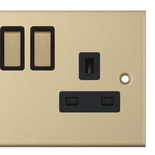 Upgrade to Brass Plugs and Switch